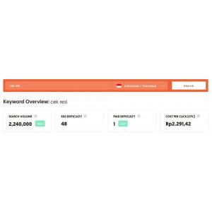 Gambar Jasa pembuatan Website murah untuk Cek Resi otomatis include Domain Hosting