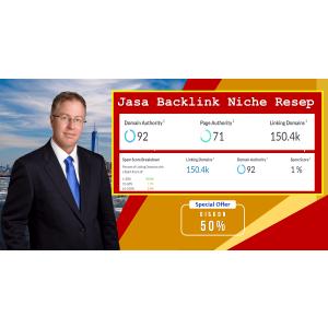 Gambar Jasa Backlink Contextual sesuai Niche, resep masakan. DA 92 | PA 71 | Spam Score 1%